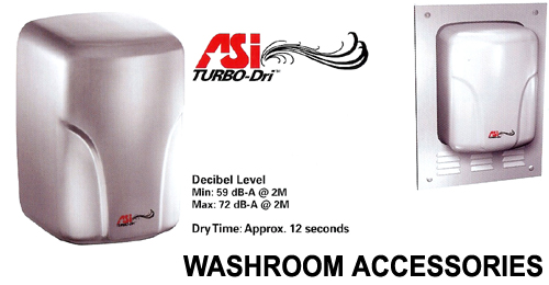 WASHROOM ACCESSORIES ROCKFORD