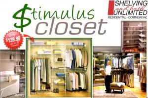 139 custom closet installation special